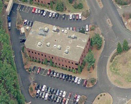 9 Executive Park Drive Aerial Shot